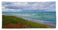 Lake Superior Colors Beach Towel