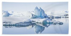 Land Of Ice Beach Towel