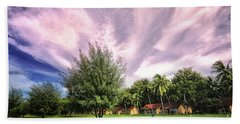 Beach Towel featuring the photograph Landscape  by Charuhas Images