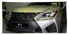 Lexus Rcf Beach Sheet