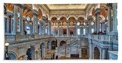 Library Of Congress Beach Sheet