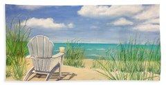 Life Is A Beach Beach Towel by Diane Diederich