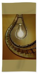 Light Bulb Staircase Beach Towel