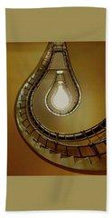 Light Bulb Staircase Beach Sheet