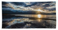 Light The Way Beach Towel by Mitch Shindelbower