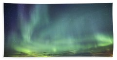 Lights And Motion Beach Towel