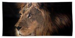 Lion King Of The Jungle Beach Sheet