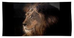Lion King Of The Jungle Beach Towel