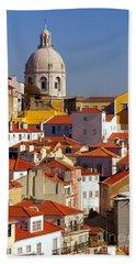Lisbon View Beach Towel