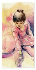 Little Ballerina Beach Towel