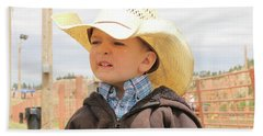 Little Cowboy Beach Towel