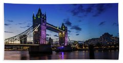 Beach Sheet featuring the photograph London England by Mariusz Czajkowski