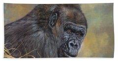 Lowland Gorilla Beach Towel