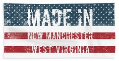 Made In New Manchester, West Virginia Beach Towel