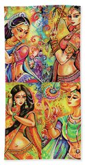 Magic Of Dance Beach Towel