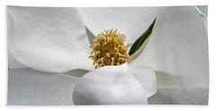 Magnolia Flower Beach Sheet