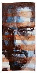 Malcolmx Beach Towel