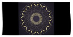 Mandala 1 Beach Towel