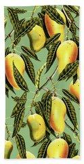 Mango Season Beach Towel by Uma Gokhale