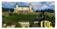 Marienberg Fortress Beach Towel