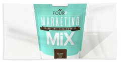 Marketing Mix 4 P's Beach Towel