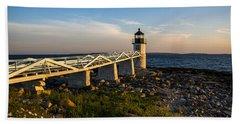 Marshall Point Lighthouse Beach Towel