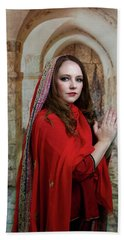 Mary Magdalene Beach Towel