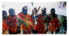 Masaai Boys Beach Towel