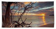 Maui Magic Beach Towel by James Roemmling