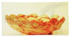 Medium Patches Bowl1 Beach Towel by Itzhak Richter
