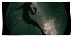 Mermaid Deep Underwater Beach Sheet