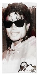 Michael Jackson Beach Towel