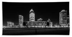 Milwaukee County War Memorial Center Beach Towel by Randy Scherkenbach