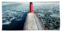Milwaukee Harbor Beach Towel