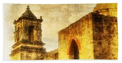 Mission San Jose San Antonio, Texas Beach Towel