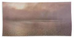 Beach Towel featuring the photograph Misty Morning by Tom Singleton