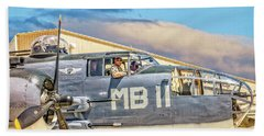 Marine Mitchell B-25 Pbj  Beach Sheet