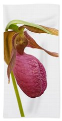 Moccasin Flower Beach Towel