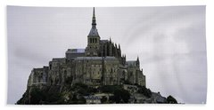 Mont St Michel Beach Towel