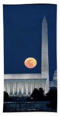 Monumental Moon Beach Towel