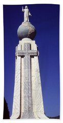 Monumento Al Divino Salvador Del Mundo Beach Sheet