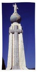 Monumento Al Divino Salvador Del Mundo Beach Towel by Juergen Weiss