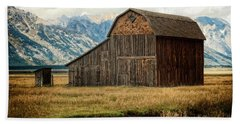Mormon Row Barn No 2 Beach Sheet