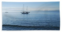 Morning Clouds Beach Towel by George Katechis