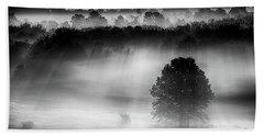 Morning Fog Beach Sheet