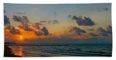 Morning On The Beach Beach Towel