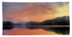 Beach Towel featuring the photograph Morning Solitude by Darren Fisher