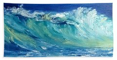 Morning Surf Beach Towel by Fred Wilson