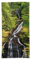 Moss Glen Falls Beach Towel