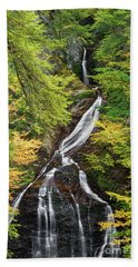 Moss Glen Falls Beach Towel